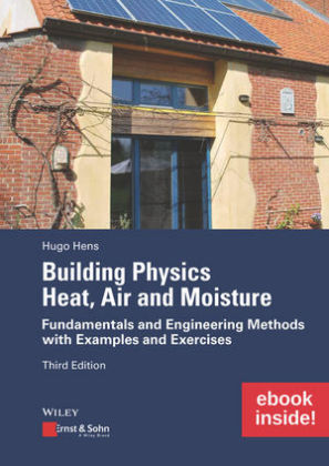 Cover Building Physics: Heat, Air and Moisture