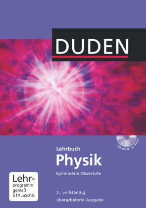 Cover Lehrbuch Physik gymnasiale Oberstufe, m. CD-ROM