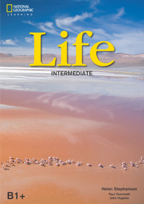 Cover Life - First Edition - B1+: Intermediate - Student's Book + DVD