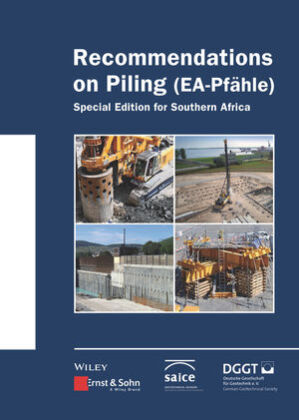 Cover Recommendations on Piling (EA Pfähle)