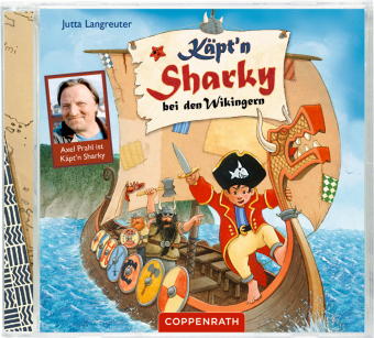 Cover Käpt'n Sharky bei den Wikingern, 1 Audio-CD