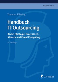 Cover Handbuch IT-Outsourcing