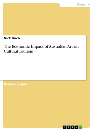 Cover The Economic Impact of Australian Art on Cultural Tourism