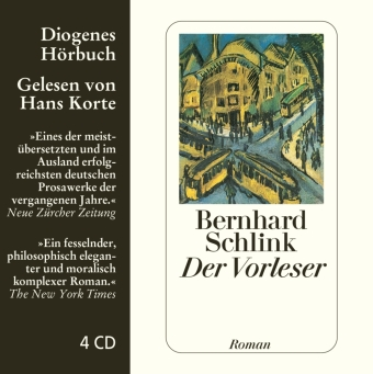 Cover Der Vorleser, 4 Audio-CDs