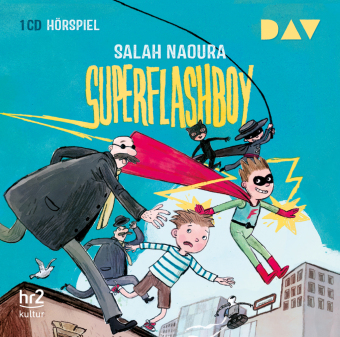 Cover Superflashboy, 1 Audio-CD