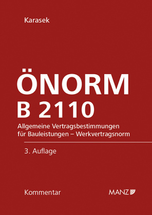 Cover ?NORM B 2110, Kommentar