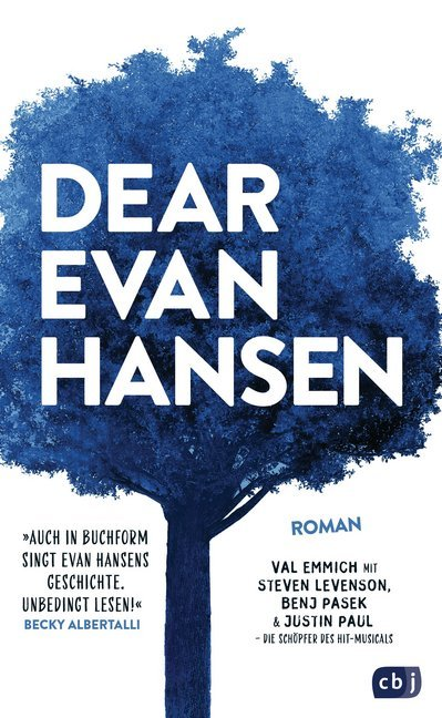 Cover Dear Evan Hansen