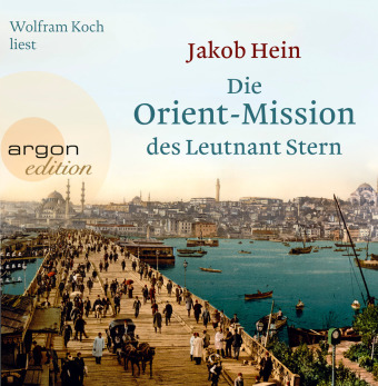 Cover Die Orient-Mission des Leutnant Stern, 4 Audio-CDs