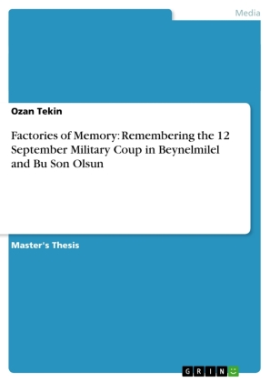 Factories of Memory: Remembering the 12 September Military Coup in Beynelmilel and Bu Son Olsun