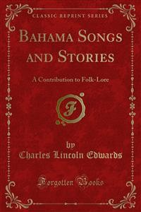 Cover Bahama Songs and Stories