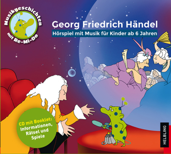 Cover Georg Friedrich Händel, Audio-CD