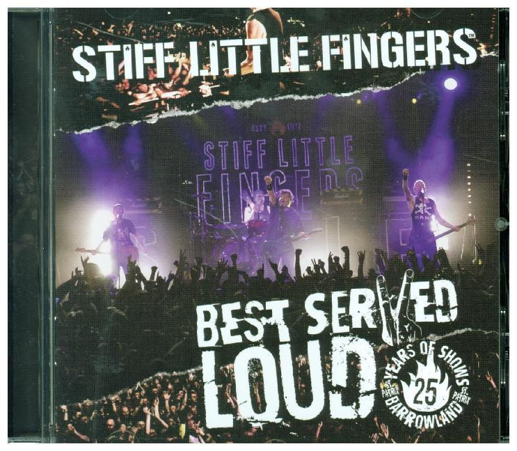 Best Served Loud, 1 Audio-CD