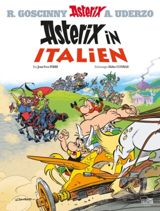 Cover Asterix in Italien