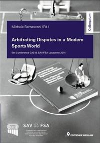 Cover Arbitrating Disputes in a Modern Sports World