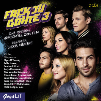 Cover Fack Ju Göhte 3, 2 Audio-CD