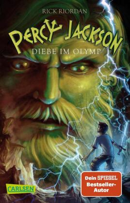 Cover Percy Jackson, Diebe im Olymp