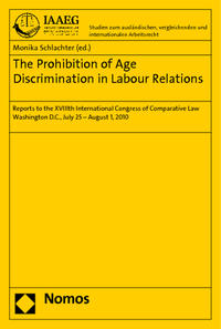 Cover The Prohibition of Age Discrimination in Labour Relations