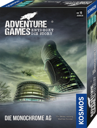 Cover Adventure Games - Die Monochrome AG (Spiel)