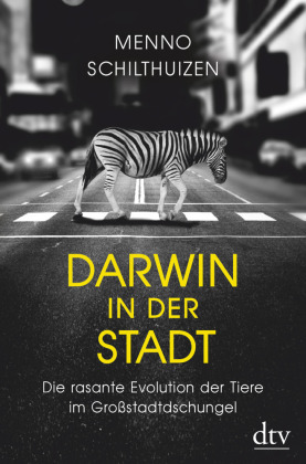 Cover Darwin in der Stadt