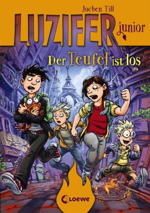 Cover Luzifer junior - Der Teufel ist los