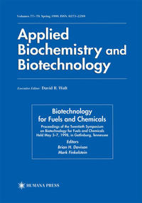 Cover Twentieth Symposium on Biotechnology for Fuels and Chemicals