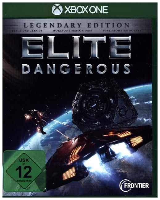 Cover Elite Dangerous, 1 XBox One-Blu-ray Disc (Legendary Edition)