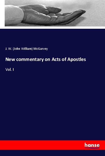 Cover New commentary on Acts of Apostles