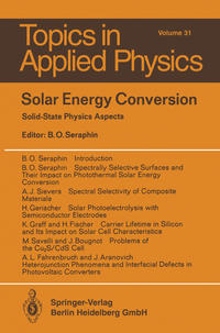 Cover Solar Energy Conversion