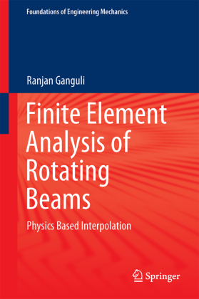 Cover Finite Element Analysis of Rotating Beams