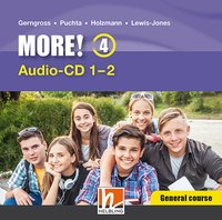 MORE! 4 Audio CD General Course 1-4 NEU