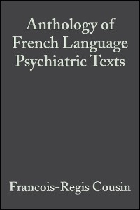 Cover Anthology of French Language Psychiatric Texts