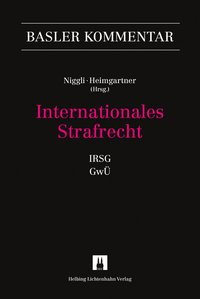 Cover Internationales Strafrecht (IRSG, GwÜ)