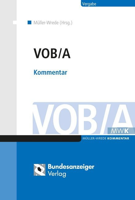 Cover VOB/A, Kommentar