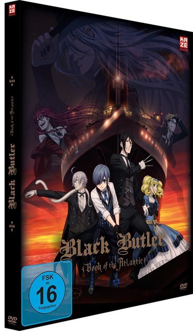 Black Butler: Book of the Atlantic - DVD