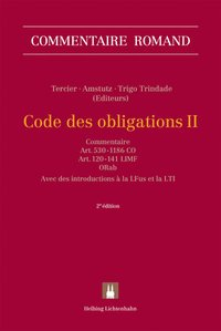 Cover Code des obligations II (CO II)