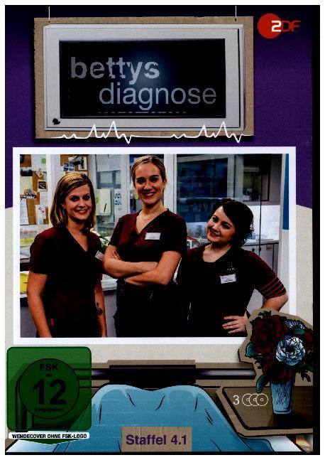 Cover Bettys Diagnose. Staffel.4.1, 3 DVD
