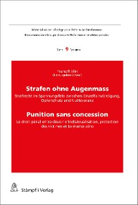 Cover Strafen ohne Augenmass - Punition sans concession
