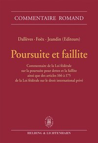 Cover Poursuite et faillite