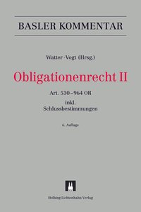 Cover Obligationenrecht II