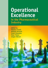 Cover Operational Excellence in the Pharmaceutical Industry
