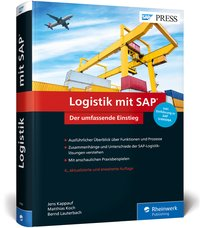 Cover Logistik mit SAP