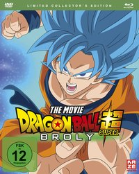 Dragonball Super: Broly - Limited Collector's Edition (DVD und Blu-ray)