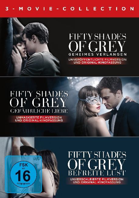 Fifty Shades of Grey -  3 Movie - Collection