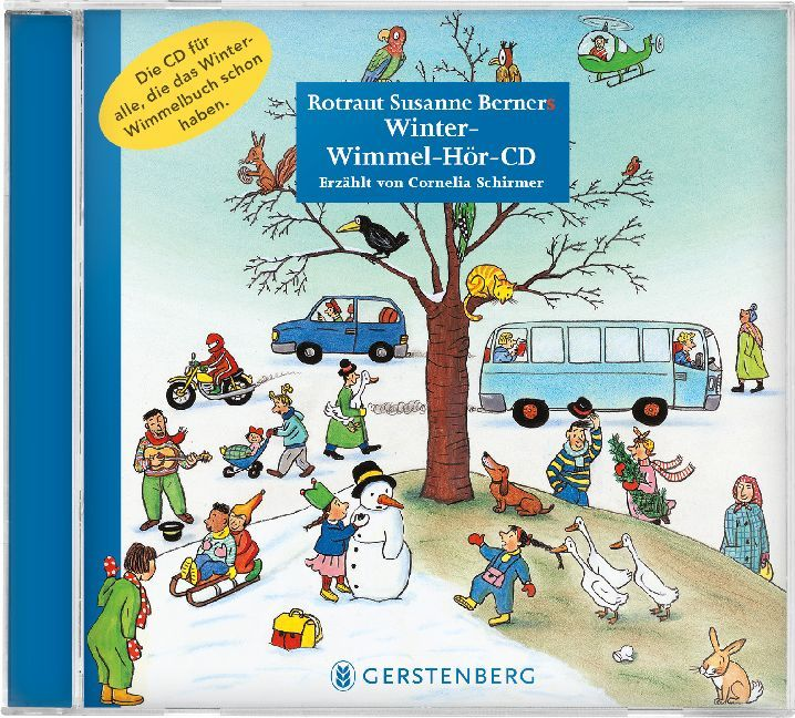 Cover Winter-Wimmel-Hör-CD, 1 Audio-CD