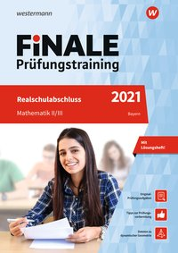 Cover FiNALE Prüfungstraining / FiNALE - Prüfungstraining Realschulabschluss Bayern
