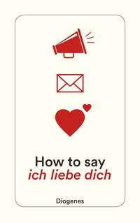 Cover How to say ich liebe dich