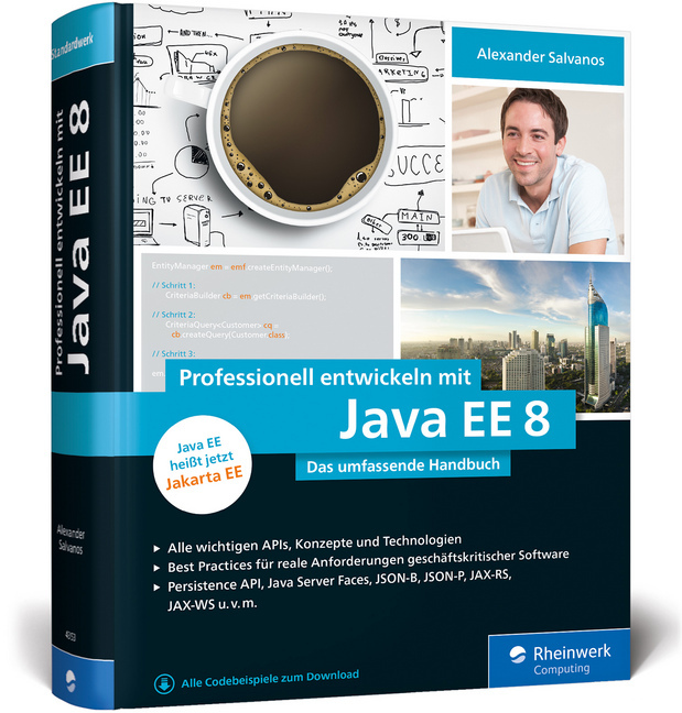 Cover Professionell entwickeln mit Java EE 8