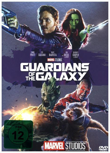 Cover Guardians of the Galaxy, 1 DVD