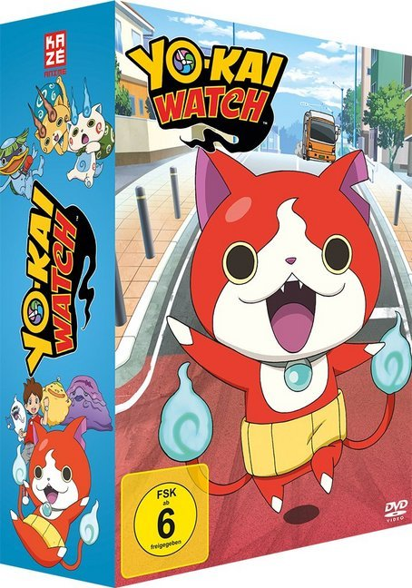 Yo-kai Watch Collectors Box, 4 DVDs