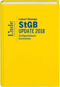 Cover Leukauf/Steininger StGB Update 2018